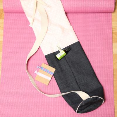 Baby Pink Yoga bag